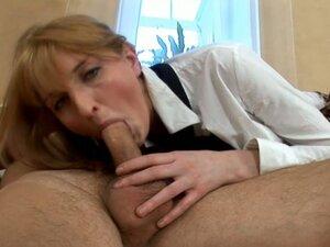 Ugly faced blonde chick Margaret Kendricks with