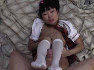 School babe full of lust grinds on top of the cock