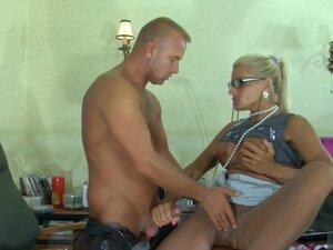 PantyhoseTales Clip: Hannah and Benjamin M, Blonde