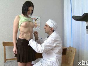 Horny patient had casual sex
