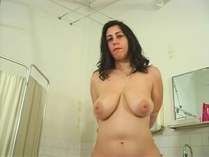 Dark-haired slave gets ger pussy teased by her
