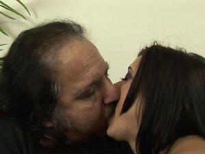 Cece Stone & Ron Jeremy in Up In The Ladder With