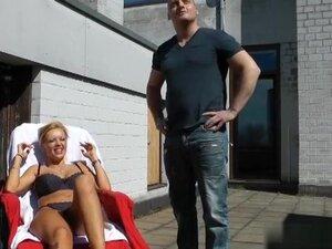 Amatuer big tits vid shows me sucking a German