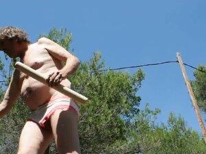 transvestite anal dildo crossdresser mature