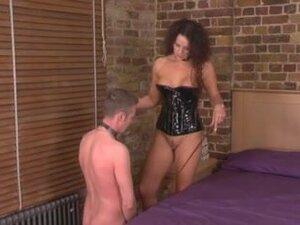 Slave lick Superior British Mistress,