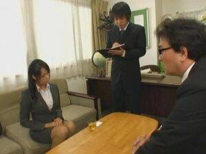 Breast Grabbing, Kyoko Maki, Saki Sudou & Miyuki