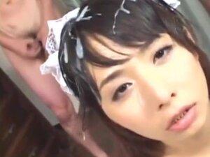 ppp 080 japanese bukkake with cum-on-hair
