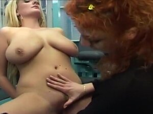 Blond Masturbated With Power Drill Dildo, This