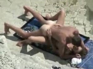 Mature Beach Fuck Movie Scene of Couple Caught on