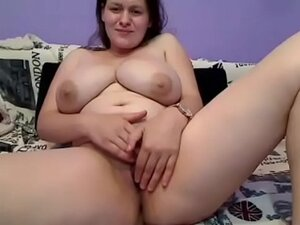 Busty milf giving handjob for free on cam