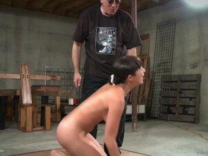 Nyssa Nevers enjoys friend's sex toys on her wet