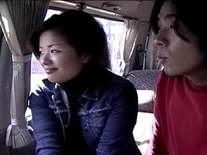 For passionate girl and her friend the car fucking