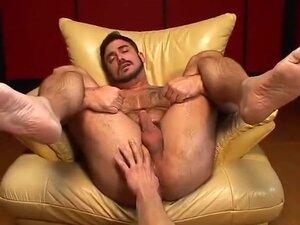 Bearded bear foreplay and fuck