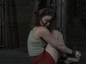 Hard spanking for masked babe, Masked beauty with