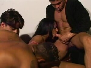 Dude Ass Fucked By Tranny And Two Dudes, There are