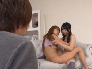 Yuhno Hoshi and Chiharu Fujitsuki Have A Hot