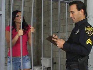 Backdoor fuck behind the bars