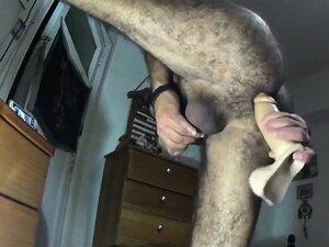 Chilean Hairy Mature Man Gets Fucked Bareback
