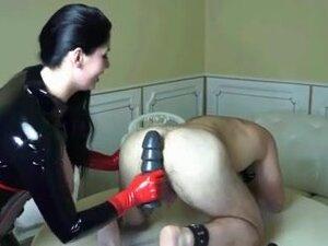 Latex Mistress Multiple Anal Insertations