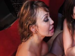 Ava Devine and Sara Jay  - Interracial