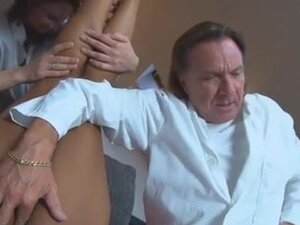 German Doctors fucking a patient at home,