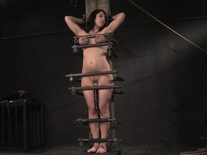 Beverly Hills's go blue in a breath-taking BDSM