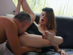 Jillian Janson spreads her legs for a friend's