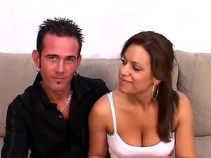 Perfect Latina screwed in front of her bf