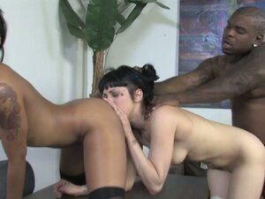 Asphyxia Noir and Skin Diamond are So Hot! BBC to
