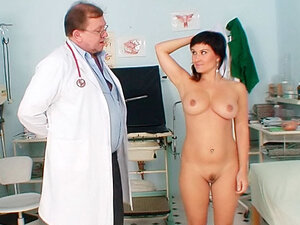 Doctor does dirty things to this pussy
