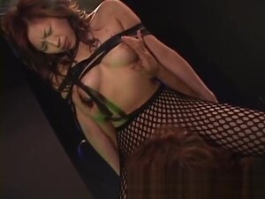 Babe marin hosino gets drenched in slime part5,
