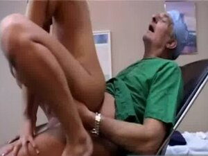 Old man Doctor fucks patient
