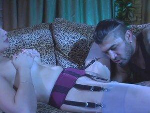 LoveNylons Video: Ashley and Frederic