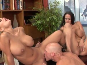 Johnny Sins enjoys in meeting his new assistant,