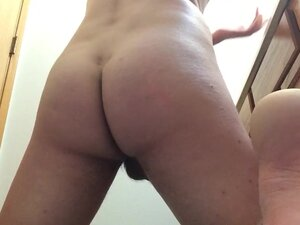 19 year old jerks off and fingers tight asshole