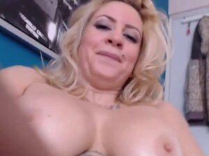 Sexy big titted blonde cuckold Jade
