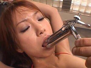 Riri Asian model wants crazy bondage sex, Riri is