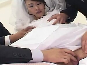 Kinky Japanese bride is the gift of both her