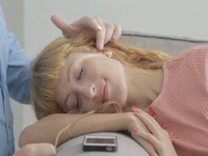LustHD Perky tits redhead Russian teen sucks and
