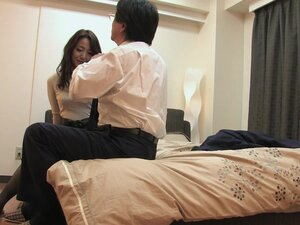 Kinky Japanese boss loves to pleasure his