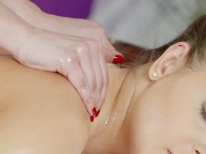 Massage Rooms Lesbians with big natural tits have