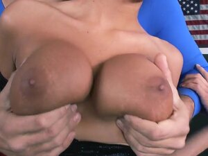 The beautiful big titted blonde chick Jessica Nyx