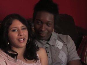 Crazy pornstar Liv Aguilera in horny interracial,