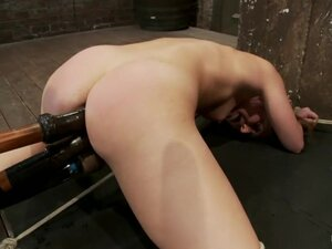 Remy - Controlled by her Cunt, Bound on her knees,