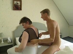 Dude Loves To Slap Big-Tits Together