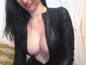 Babe Sucks and Masturbates with a Dildo