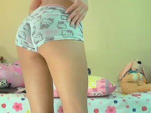 Amateur Teen Babe Striptease