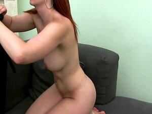 Euro girlnextdoor masturbates and sucks cock