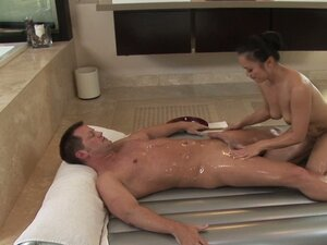 Hot massage with Mya Luanna turns into a ardent