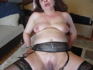 Ugly Arab Mix Russian MILF  Covered in Spunk